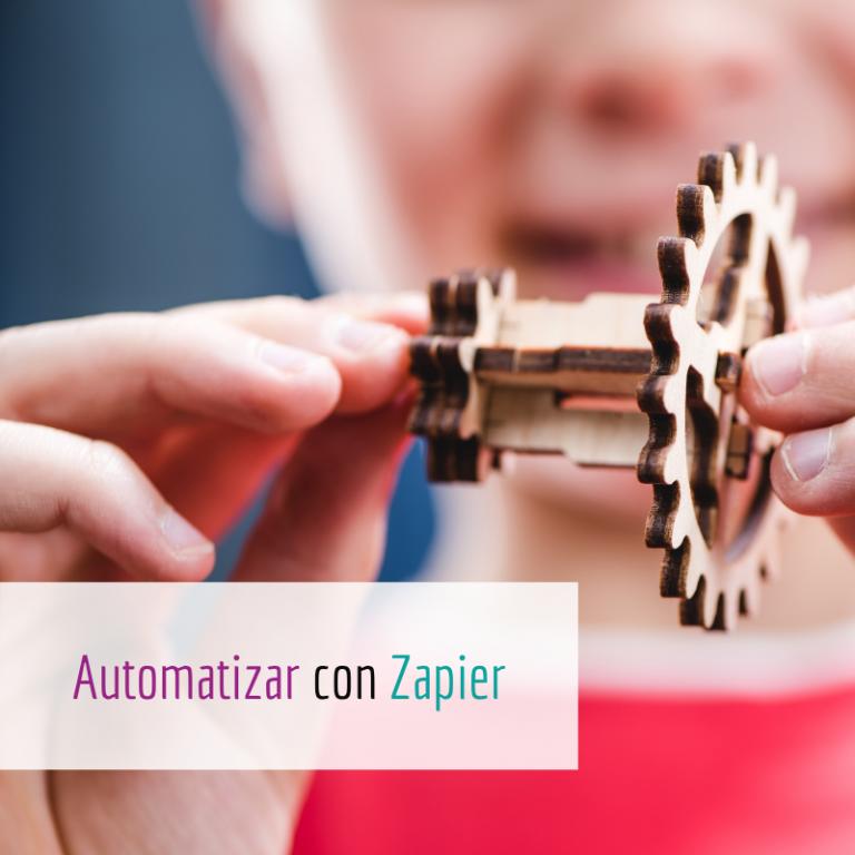 Automatizar con Zapier